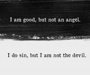 angel, quotes, and Devil image