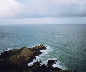 sea, ocean, and vintage image