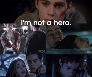hero, teen wolf, and dylan o'brien image