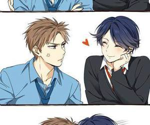 anime, kiss, and shoujo image