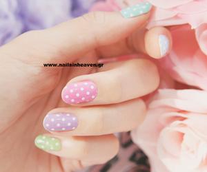 black, design, and nails image