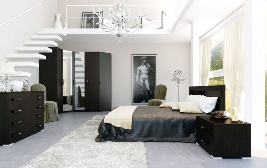 Deluxe-bedroom-interior-decoration-with-comfortable-bed-plus ...