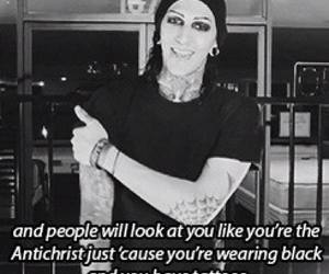 tattoo, motionless in white, and miw image