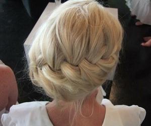 blonde, braid, and cute image