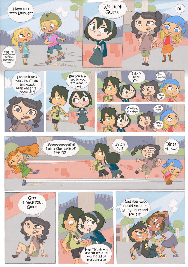 Images About Total Drama Island On We Heart It See More About Total Drama Comic And Funny