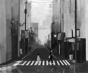 anime and city image