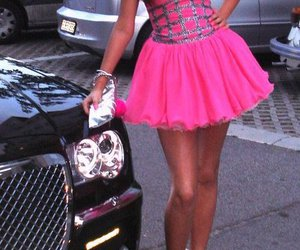 baby pink, heels, and hot pink image