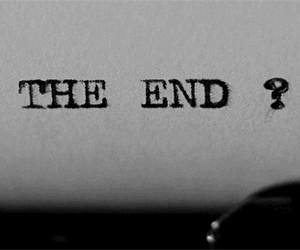 end, the end, and ? image