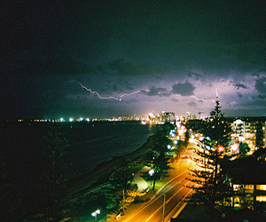 buildings, lightning, and photography image