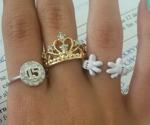 beauty, crown, and disney image