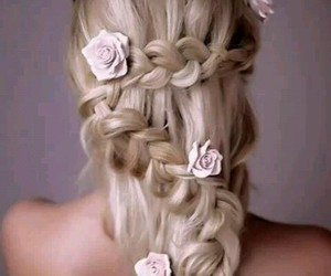 braid, dutch, and hairstyle image