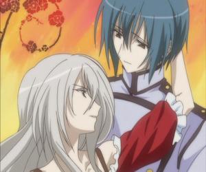 strawberry panic, shizuma, and amane image