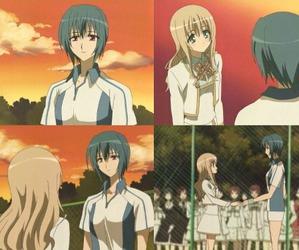 anime, hikari, and anime yuri image