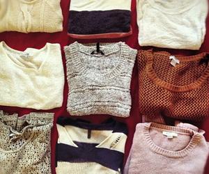 sweater, autumn, and fashion image