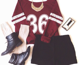 fashion, sporty, and outfit image