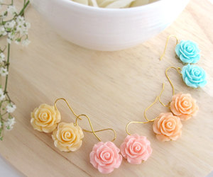 earrings and pastel image