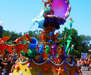 disney world, disney parade, and the little marmaid image