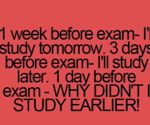 lol, exam, and funny image