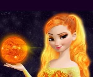frozen, elsa, and sun elsa image