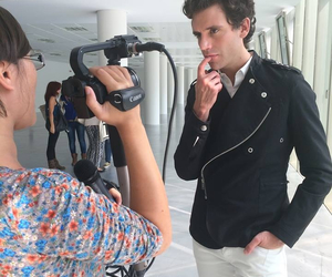 interview, italy, and mika image