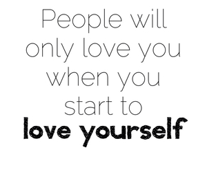 quote, love, and love yourself image