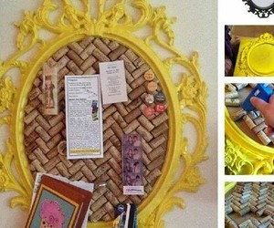 recycle, diy, and wine cork image