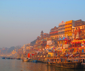 boats, colorful, and holy image