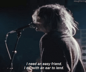 about a girl, Lyrics, and nirvana image