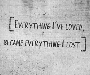 lost, love, and quotes image