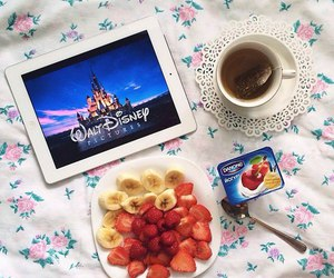 disney, fruit, and food image