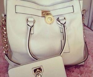 bag, mk, and wallet image