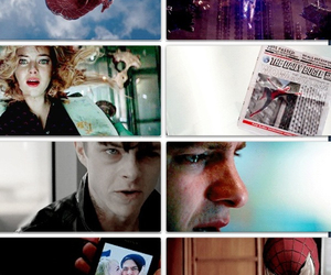 electro, movie, and spiderman image