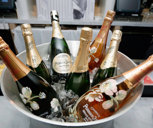 bottles, luxurious, and celebrate image