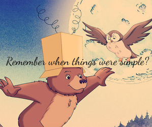 past, remember, and simple image