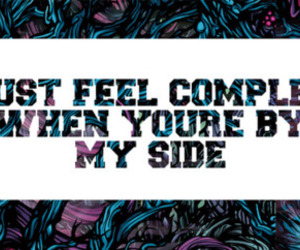a day to remember, Lyrics, and text image