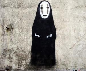 spirited away, art, and no face image