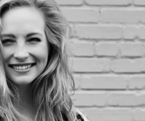 candice accola, black and white, and the vampire diaries image