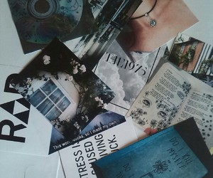 book, Collage, and draw image