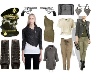 clothes, military, and fashion image