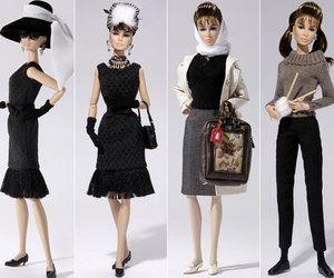 audrey hepburn, Breakfast at Tiffanys, and dolls image