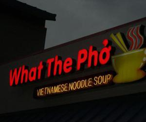 noodle, pho, and what the pho image
