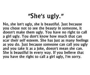 ugly, quotes, and beautiful image