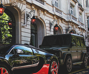 car, luxury, and street image