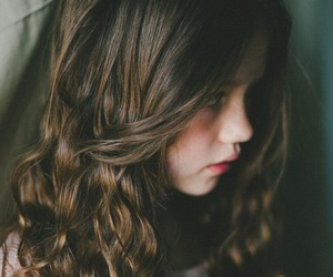 girl, hair, and child image