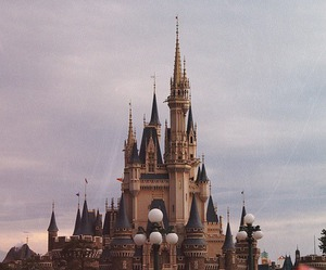 disney, castle, and indie image