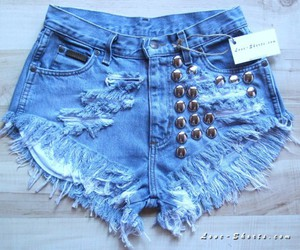 denim, hot pants, and jeans image