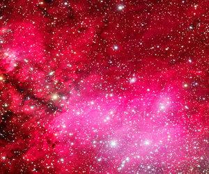 galaxy, header, and pink image