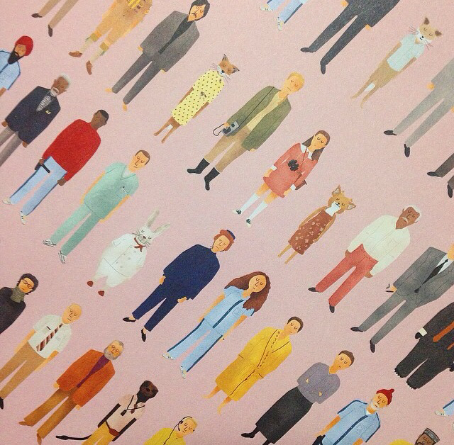 Wes Anderson Characters Can Be Used As A Wallpaper