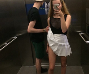 couple, pale, and grunge image