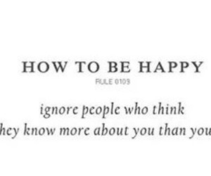 happy, know, and you image